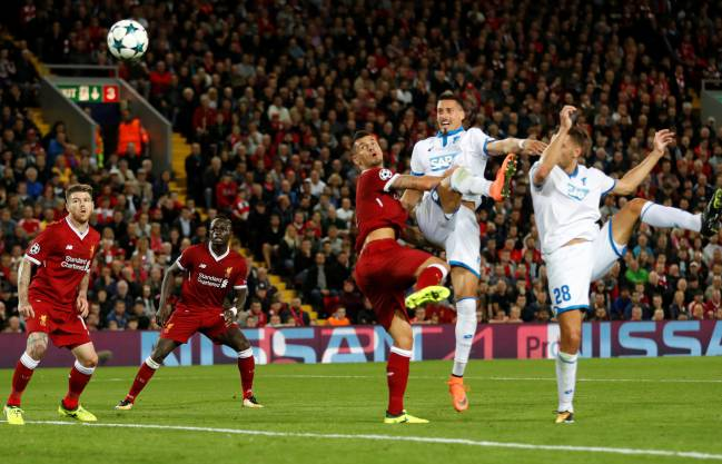 Jürgen Klopp's side steam in to the Champions League after an early flurry from Emre Can (2) and Mo Salah. Firmino rounded off the scoring in the second half.