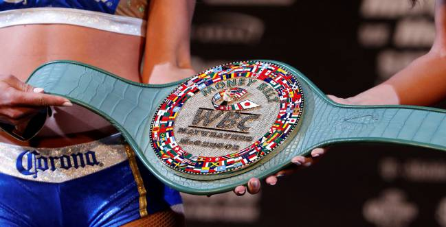Mayweather and McGregor will be fighting for the Money Belt