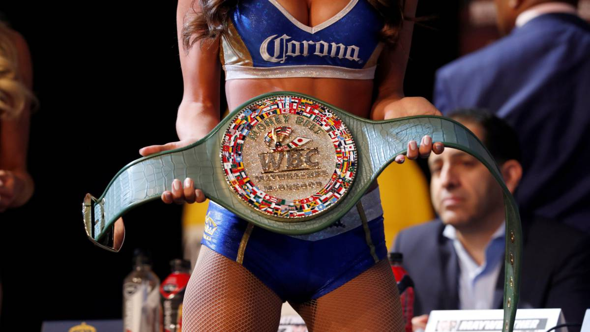 Mayweather and McGregor are fighting for the Money Belt