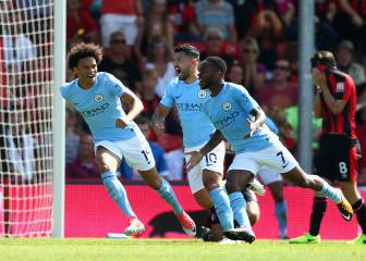Man City win it all at the death against Bournemouth