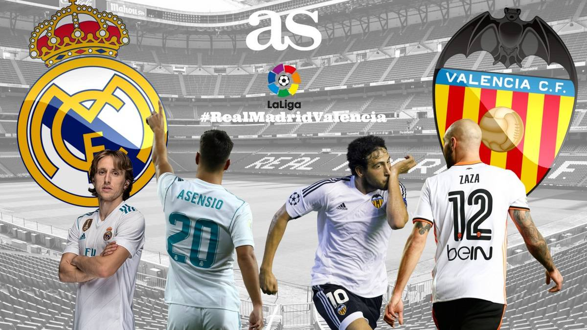 Real Madrid Vs Valencia Live