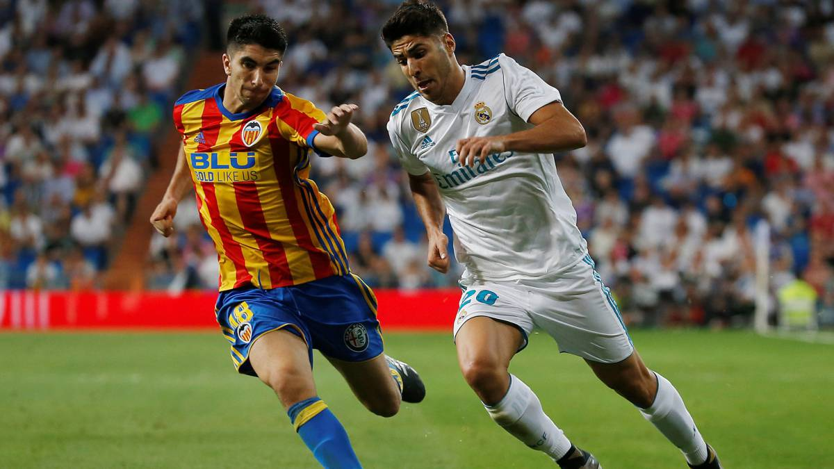 0e64e65b131 Marco Asensio provided two excellent left-footed strikes to rescue a point  for Real Madrid