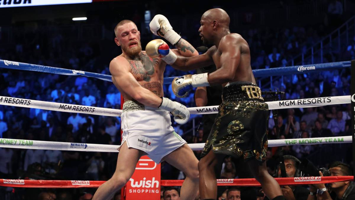 Floyd Mayweather vs Conor McGregor: Referee stops fight in the 10th round