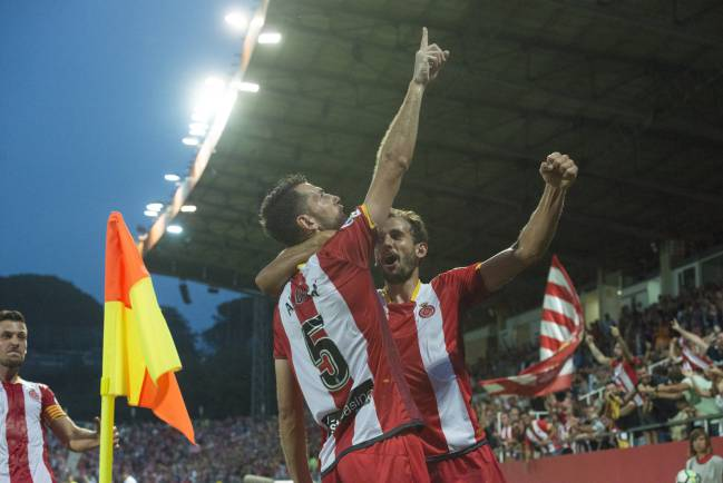 Girona fans are having a blast at the top table of Spanish football.