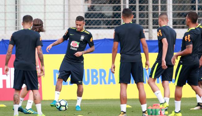 Neymar | The 25-year-old has linked up with his national team ahead of a 2018 Russia World Cup qualifier against Ecuador in Porto Alegre.