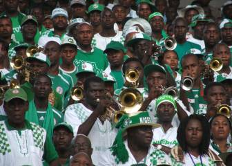 African champions humbled as Super Eagles soar