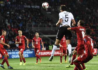 Germany stamp authority on Group C with late winner