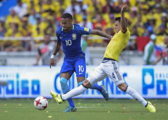 Falcao header ensures vital point for Colombia against Brazil