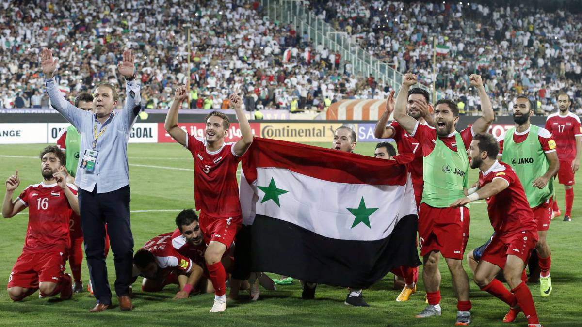 War-divided Syrians unite over football spot in Asian play-offs