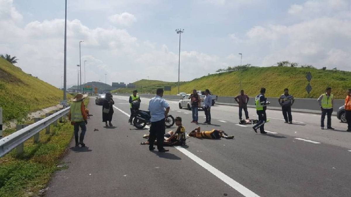 Malaysian para cyclists hurt in hit-and-run accident