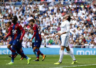 Spirited Levante hold Real Madrid in the Bernabéu