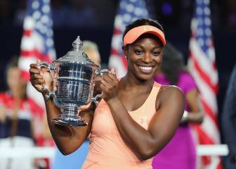 Stephens blows Keys away to claim US Open crown