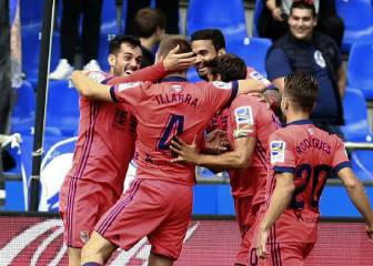 Real Sociedad beat Deportivo to go joint top with Barça