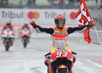 Márquez posts fourth win of the season in San Marino