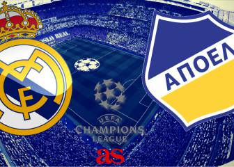 Real Madrid vs APOEL, how and where to watch
