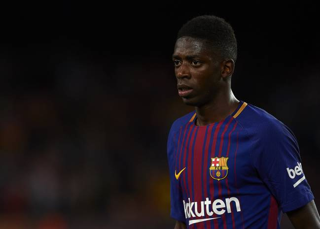 Dembele in Barcelona squad for Juventus match