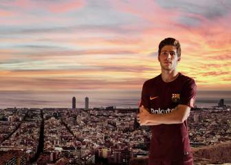 Barcelona launch new third dark maroon kit