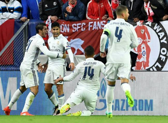 A long nap helped Asensio score a stunning goal on his debut, in the UEFA Super Cup against Sevilla.