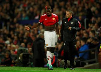 Pogba hamstring injury