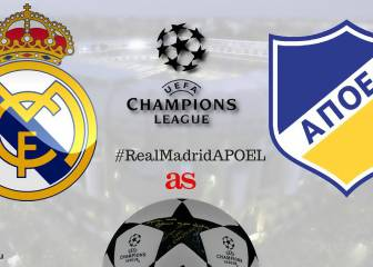 Real Madrid vs APOEL: live