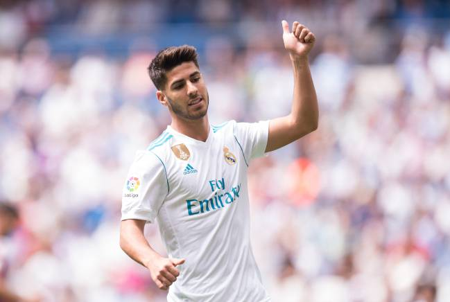 Eyes on | Marco Asensio of Real Madrid