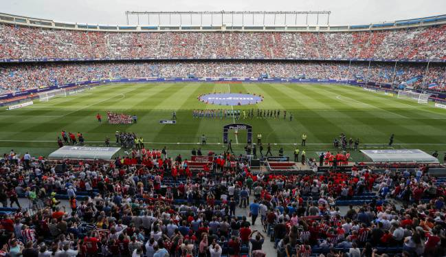 Memories: the Vicente Calderon in all its glory.
