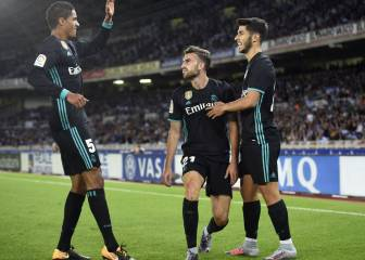 Real Madrid too hot for Real Sociedad to handle at Anoeta