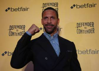 Rio Ferdinand launches bid to become pro boxer