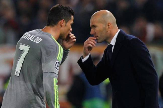 Cristiano and Zidane