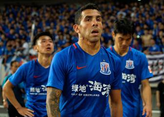 Carlos Tévez: Chinese players