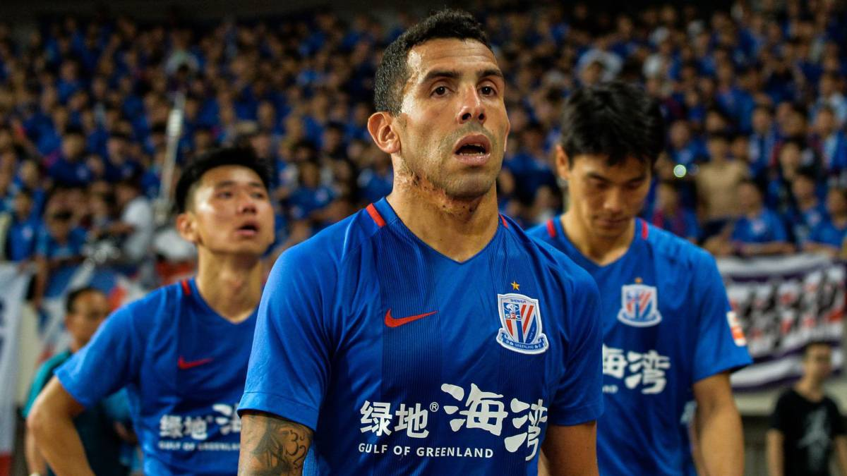 "Carlos Tévez: Chinese players ""technically not very good"""