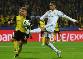 Ronaldo scores twice in frenetic defeat of Dortmund