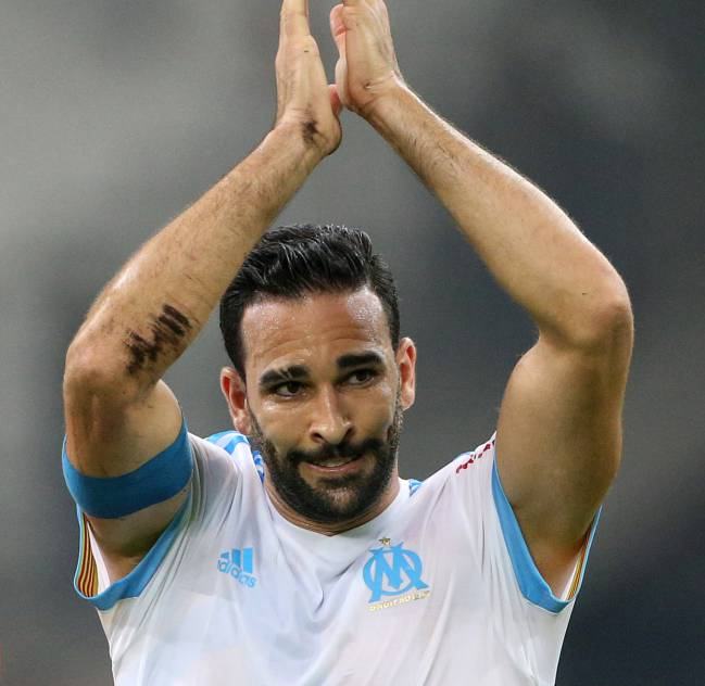 Adil Rami: Adil Rami Cheered On By Pamela Anderson In Marseille Win