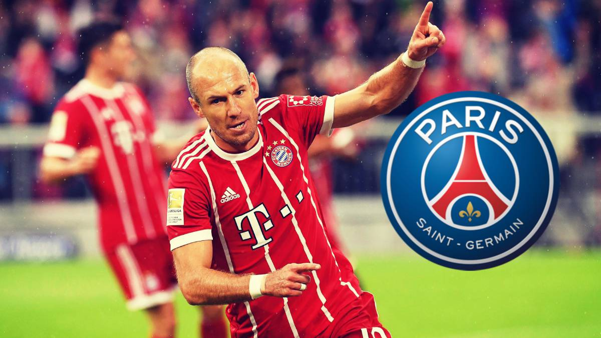 Robben mocks PSG ahead of Bayern Champions League game