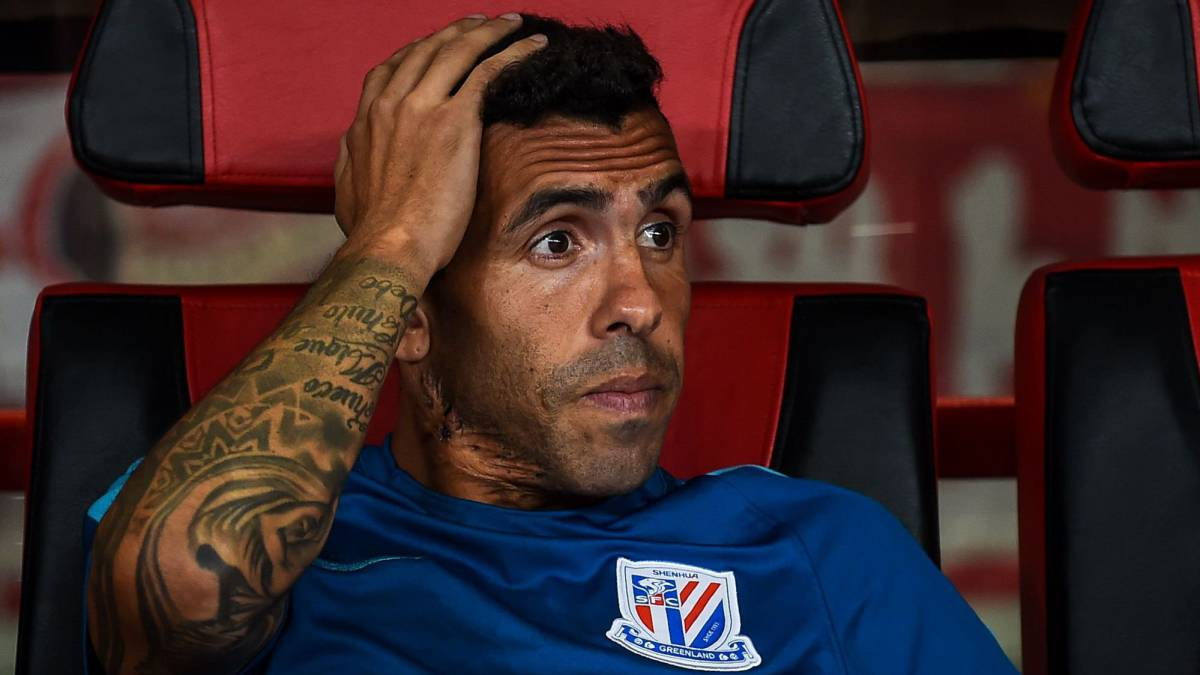 Shanghai Shenhua rejects allegations that Carlos Tevez has been dismissed