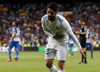 Isco double helps Real Madrid past Espanyol
