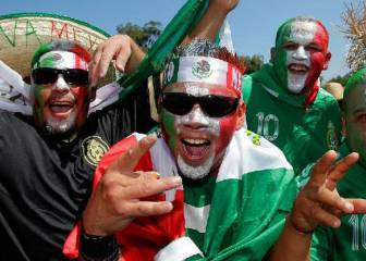 Mexican fans top Russia 2018 World Cup ticket request list