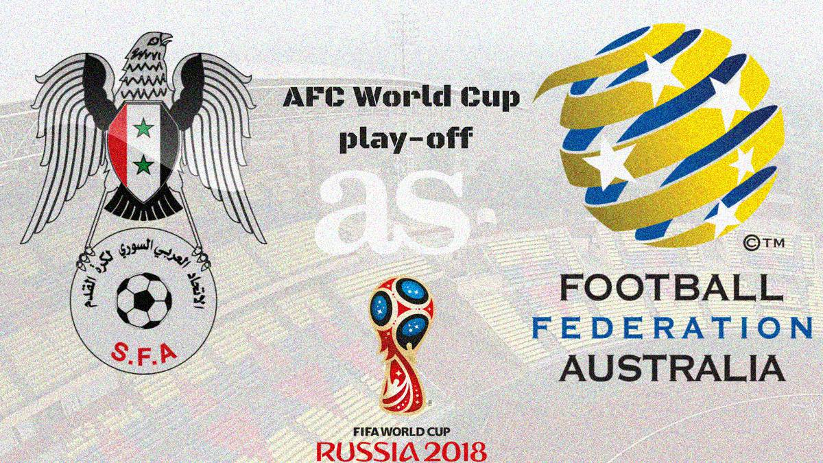 All the information you need on where and when to watch the Asian Confederation play-off as Syria face Australia in Malaysia. Kick-off Thursday October 5 at 1430 CEST.