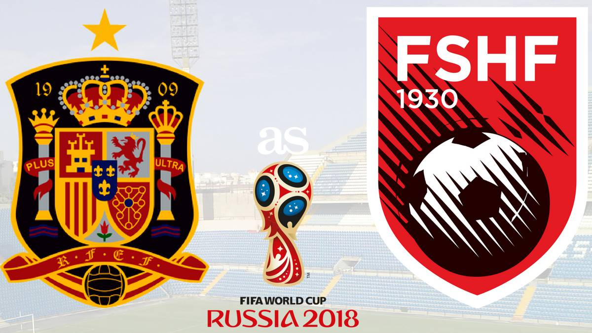 All the information you need on where and when to watch the UEFA World Cup qualifier as Spain face Albania. Kick-off Friday October 6 at 2045 CEST.