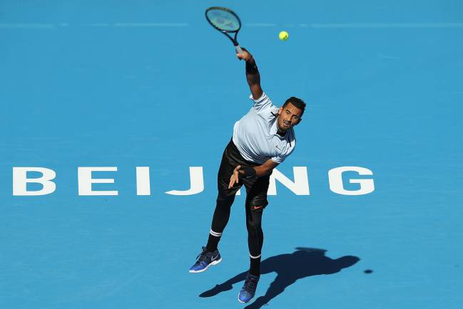 Australian tennis player Nick Kyrgios, who is currently competing at the China Open, has made a generous financial pledge to the Caribbean island.