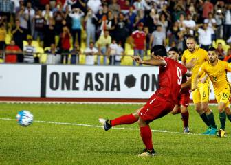 Syria fight back against Australia with late Al-Somah penalty