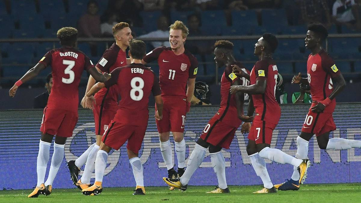 India U17 v USA U17 | The United States eased to victory over the hosts in New Delhi with goals from Josh Sargent (pen), Chris Durkin, and Andrew Carleton.