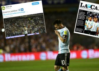 Argentinean press conclude after Peru draw: