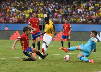 Spain fall to Brazil in their FIFA U17 World Cup opener