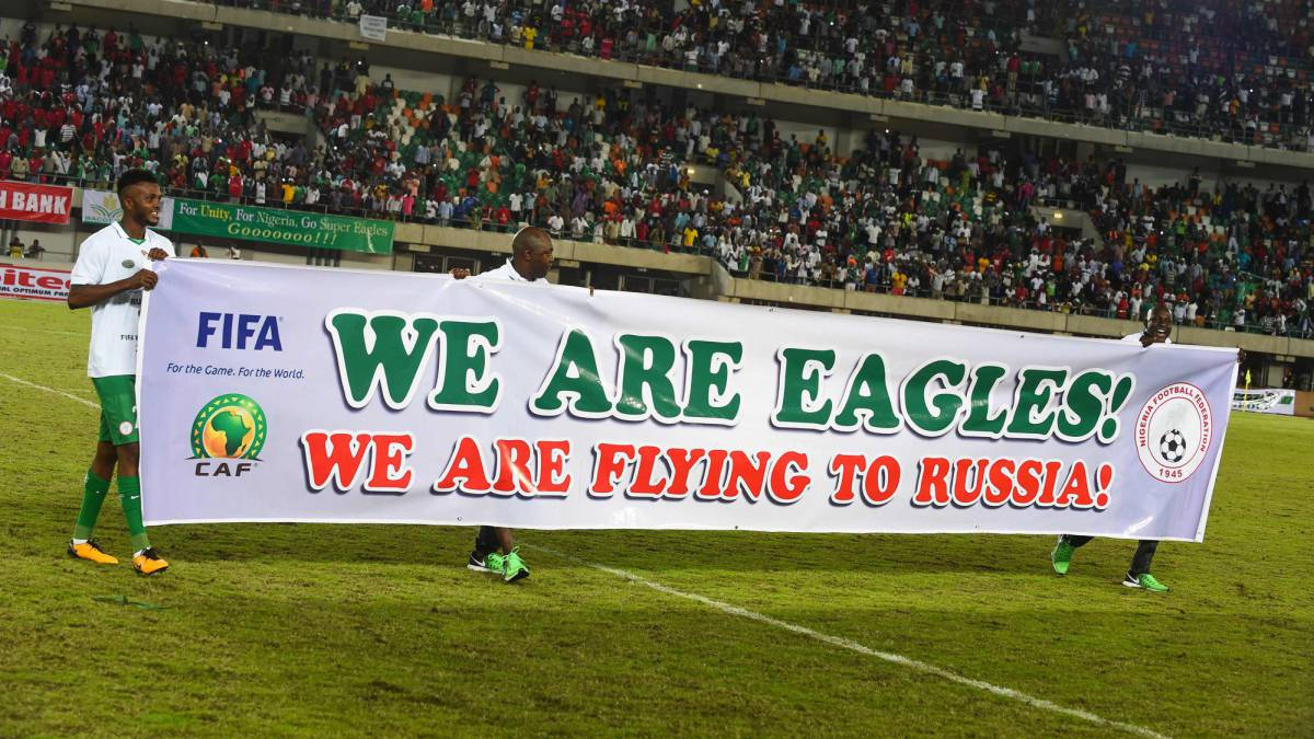 67dc1b0a9 Nigeria vs Zambia World Cup  Nigeria book their place in the World ...