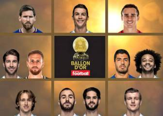 Ballon d'Or 2017: candidates revealed by France Football