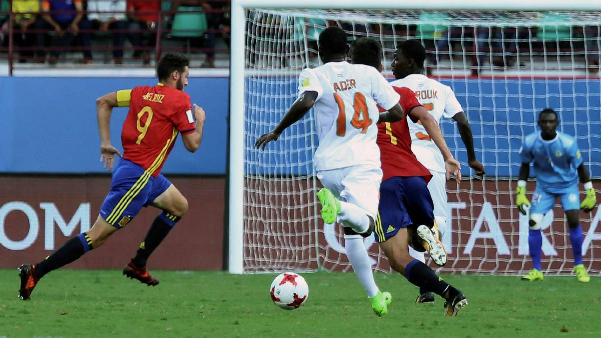 Spain 4-0 Niger U-17 World Cup India: match report, goals, action