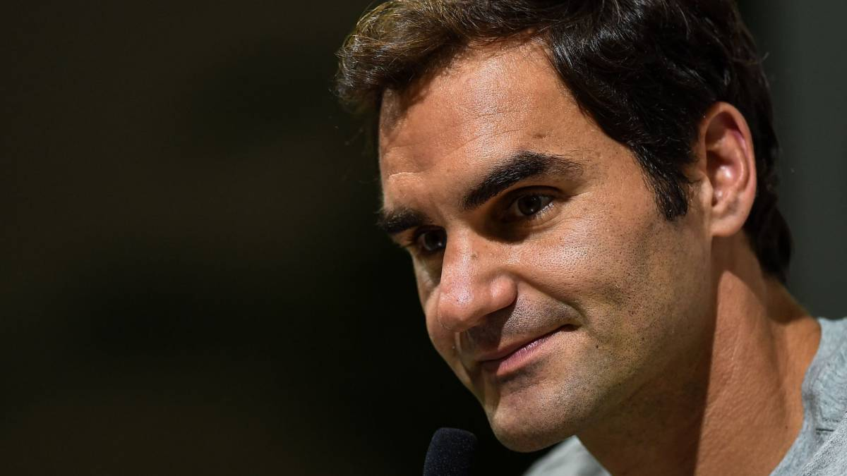 "Roger Federer ""couldn't be happier"" with his year so far"