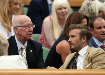 Beckham reveals he is named after Bobby Charlton