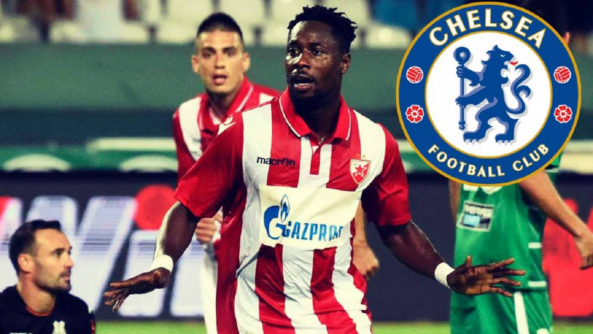 Chelsea interested in Ghanaian star Richmond Boakye
